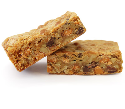 Butterscotch Walnut Blondie Bar