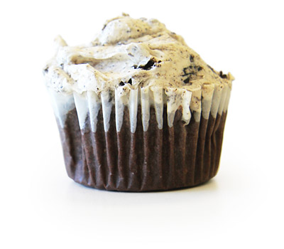 Oreos and Cream Cupcake
